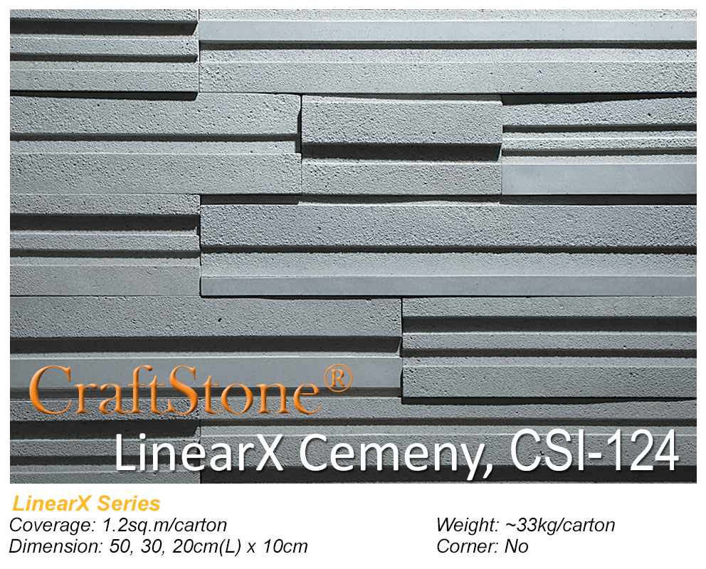 LinearX CSI-124 Swatch