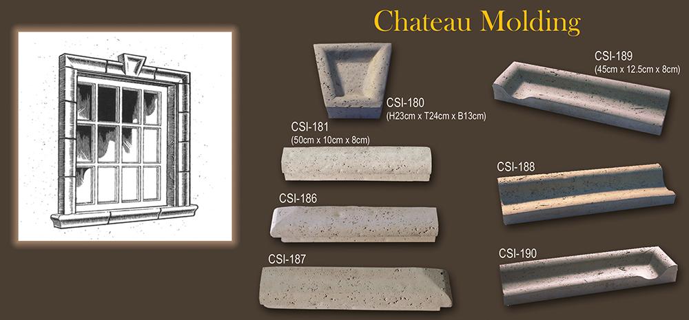 Coltivazione di Molding Chateau